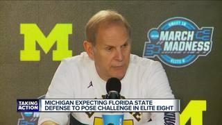 Michigan shoots for Final Four berth vs FSU