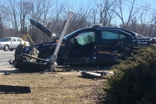 Macomb Co. deputy injured in crash after chase