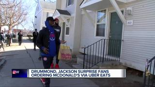Pistons stars pair up with UberEats service