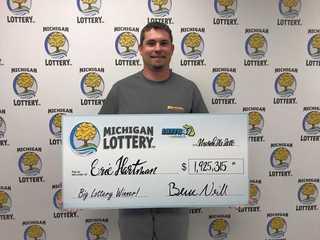 Washtenaw County man wins $1.9 million jackpot