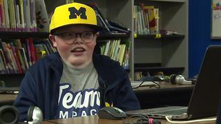 7th grader is UM's secret weapon in Final Four