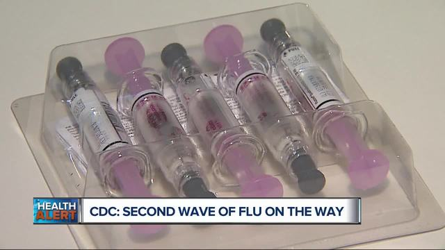 CDC warns of 2nd wave of flu hitting US