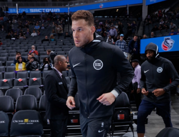 """Blake Griffin to miss week with bone bruise in right ankle"""""""
