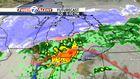 Snow follows strong storms Tuesday