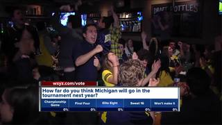 Fans react to Michigan's loss in championship