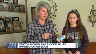 Metro Detroit woman swindled in IRS scam