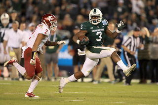 Scott returns, but depth at RB an issue for MSU