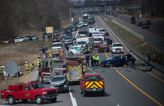 Two killed in wrong-way crash IDed as Ohio women