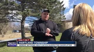 Good Samaritan stabbed helping stop shoplifter