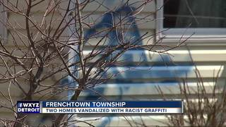 Homes vandalized with racial slur, 'thief'