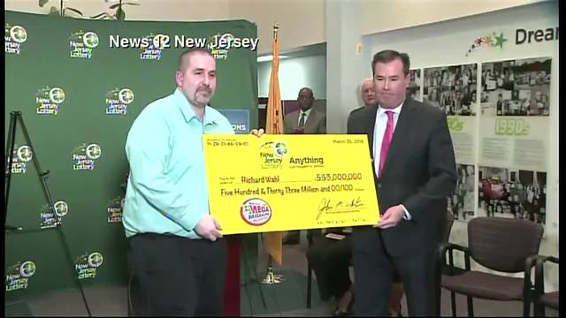 New Jersey Mega Millions Winner of $533M Introduced