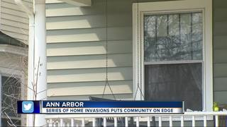 Search for suspect in Ann Arbor home invasions