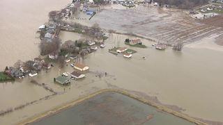 PHOTOS: Chopper 7 over flooding in Monroe County