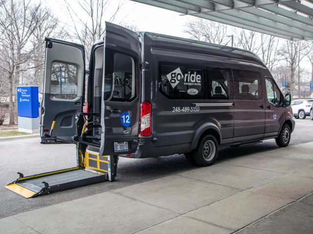 Ford expands on-demand medical shuttle service for MI health system