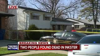 Two people found dead in Inkster, police say