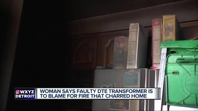 Woman blames home fire on power restoration