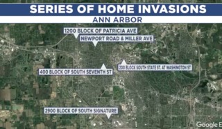 $500 reward for info on Ann Arbor home invasions