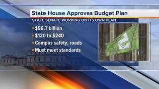 Michigan House passes $56.7 billion budget