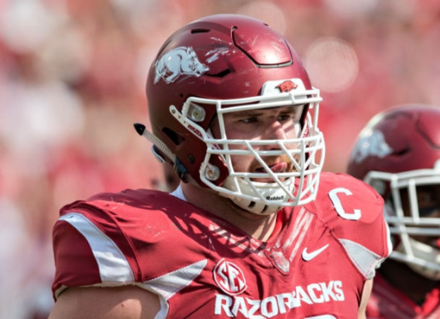 Lions draft Arkansas center Frank Ragnow No. 20 overall