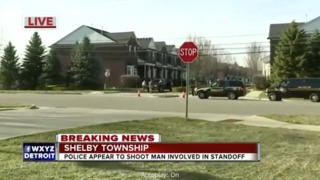 Man shot by Shelby Township police