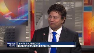 Gubernatorial candidate answers dog allegations