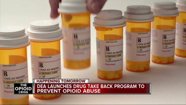 Local police collect medications for Saturday National Prescription Drug Take Back Day