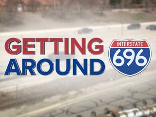 Best ways to get around 696 closure in Macomb Co