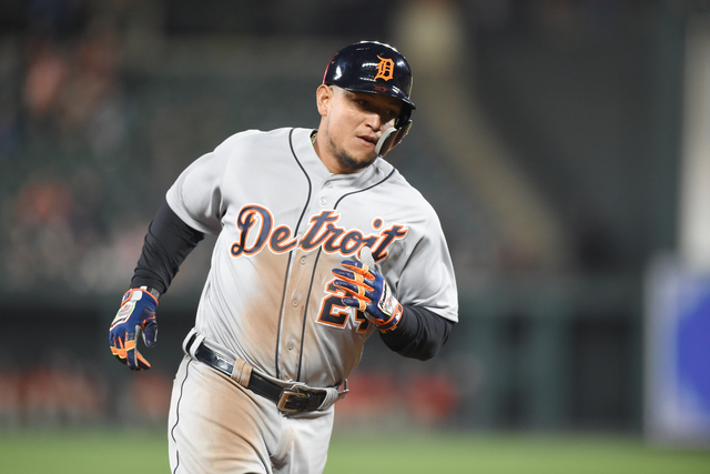 Miguel Cabrera placed on DL with hamstring injury