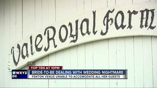 Venue problem is bride-to-be's nightmare