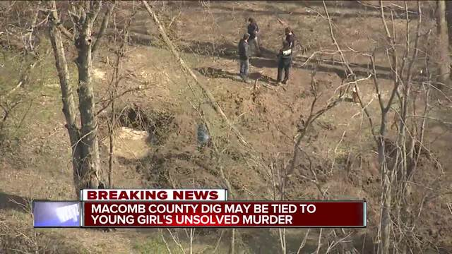 Search for missing girls' remains ended for day