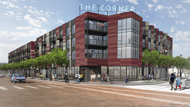 The Corner official rendering