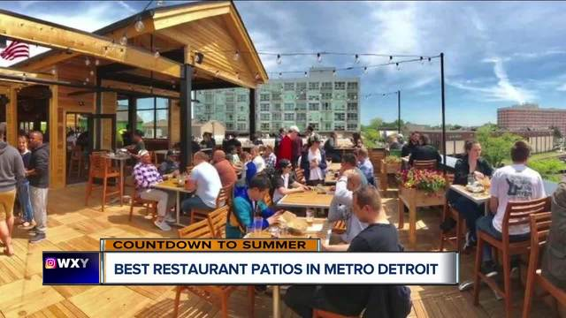 Memorial Day Is Coming Up This Week And The Countdown Is On To The  Unofficial Start Of Summer. Now, Weu0027re Taking A Look At The Best Patios In  Metro Detroit ...