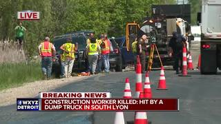 Construction worker killed in accident