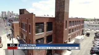 Ford moves more than 200 employees to Corktown