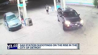 Gas station crimes on the rise in Detroit