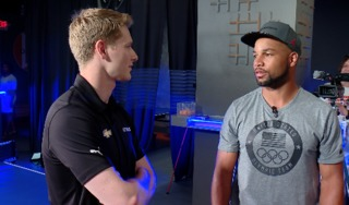 Newgarden faces off against Tate at ping pong