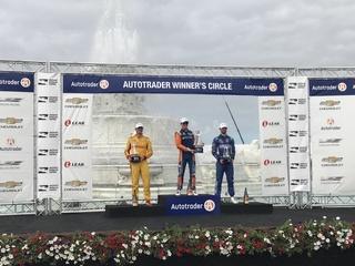 Scott Dixon wins first Dual in Detroit