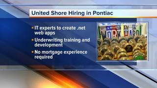 United Shore hiring in IT and mortgages