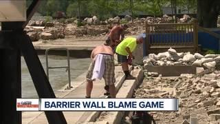Monroe Co. dealing with broken barrier wall