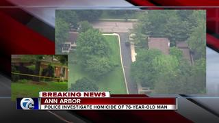 Police investigate homicide at Ann Arbor home