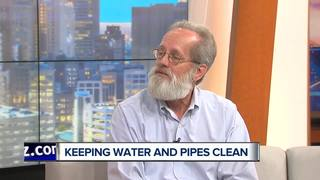 Keeping water and pipes clean