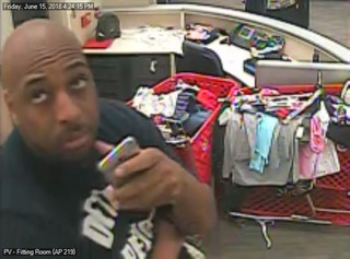 Police: 'Creeper' to pictures in dressing room