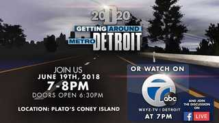 WATCH: Getting Around Metro Detroit town hall