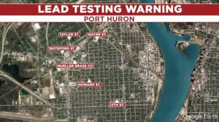 Port Huron residents urged to be tested for lead