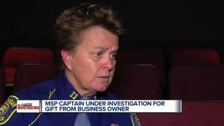 State police captain responds to investigation