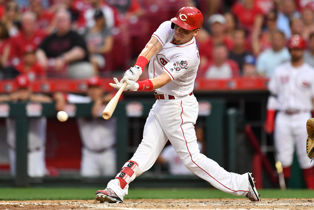 Scooter Gennett, Eugenio Suarez homers rally Reds over ...