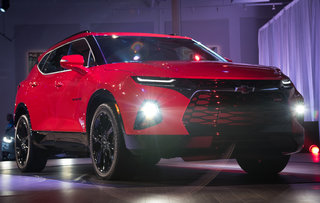 Photos: Chevy unveils redesigned 2019 Blazer