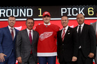 Red Wings select Zadina in NHL Draft first round