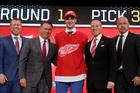 Red Wings draft Joe Veleno in first round
