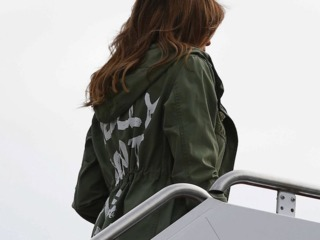 What do you think of Melania Trump's coat?
